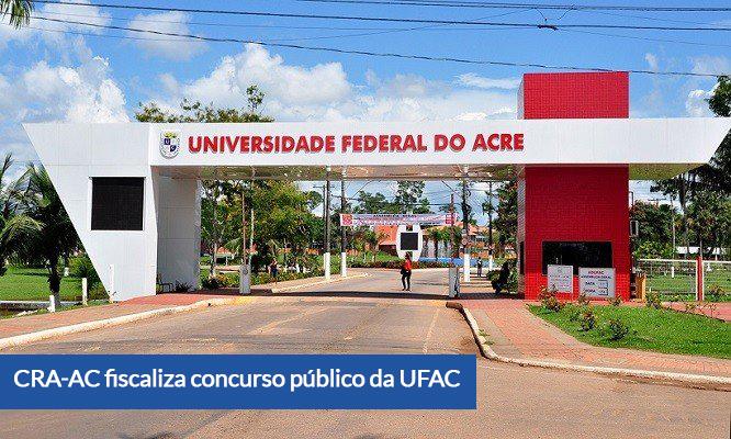 Read more about the article CRA-AC fiscaliza concurso público da UFAC